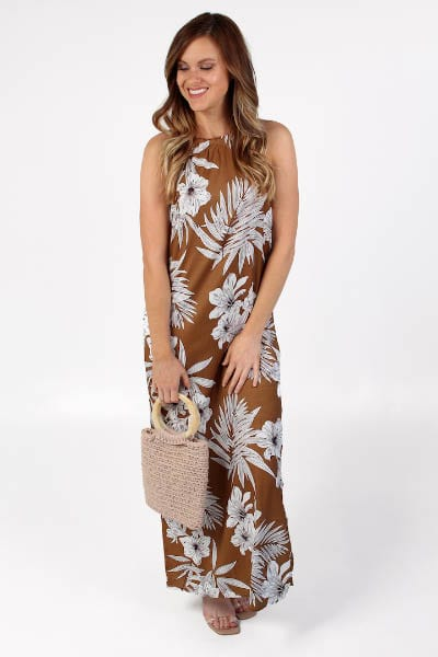 Brown Tropical Maxi e.Allen Nashville Murfreesboro Franklin