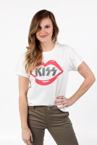 Kiss Lips Tour Tee Daydreamer e.Allen Nashville Murfreesboro franklin