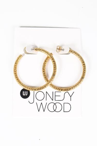Margot Hoop Earring Jonesy Wood e.Allen Murfreesboro Nashville Franklin