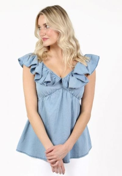 Sisay Chambray French Connection e.Allen Nashville Murfreesboro Franklin