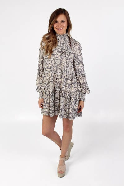 Snake Smock Top Dress e.Allen Nashville Murfreesboro Franklin
