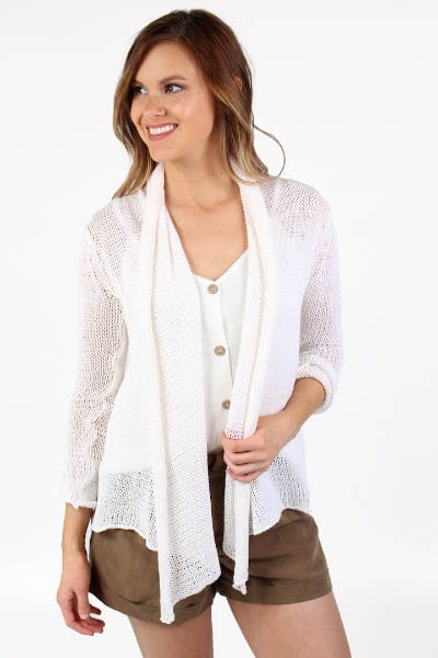 Wrap Cardigan Cotton e.Allen Nashville Murfreesboro Franklin
