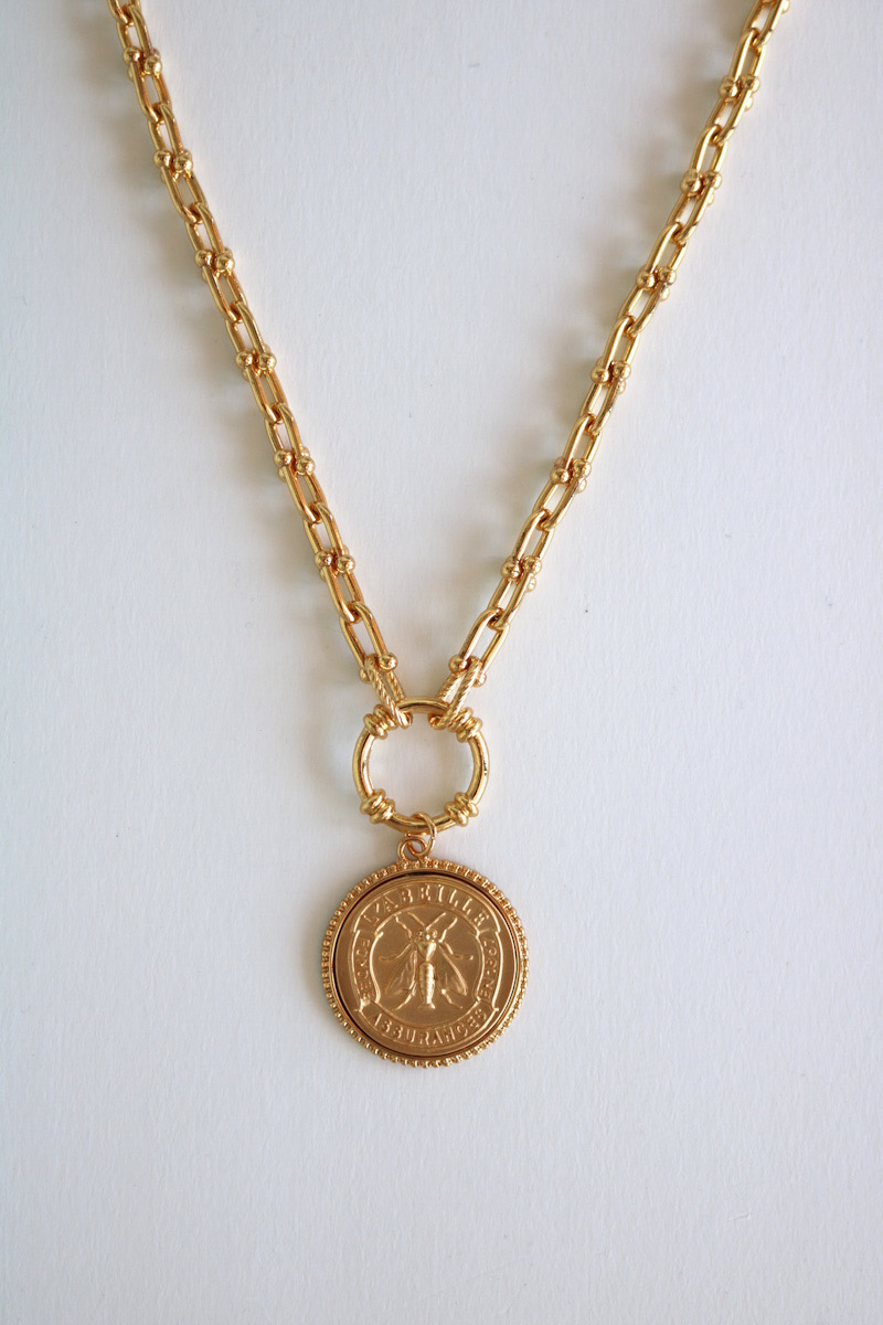 Honey Gold Necklace, Melania Clara, e.Allen, Nashville, Franklin, Murfreesboro