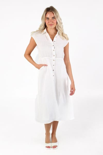 Musings Dress in White, Brave and True, e.Allen, Nashville, Franklin, Murfreesboro