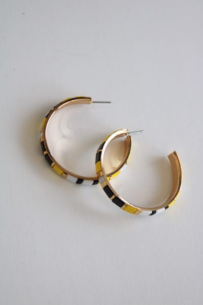 Color Block Hoops, e.Allen, Nashville, Franklin, Murfreesboro