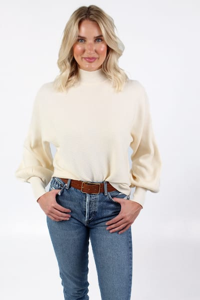 Turtleneck Dolman Sleeve Sweater, e.Allen, Nashville, franklin, Murfreesboro