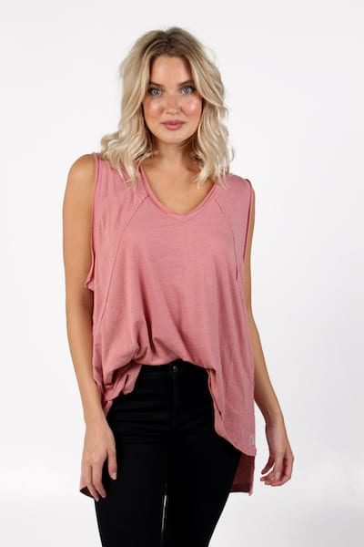 City Vibes Tank, Free People, e.Allen, Nashville, Franklin, Murfreesboro
