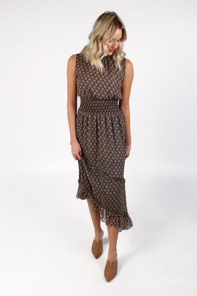 Shalom Dress in Medallion Print, Misa, e.Allen, Nashville, Franklin, Murfreesboro