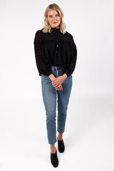High Neck Blouse, e.Allen, Nashville, Franklin, Murfreesboro