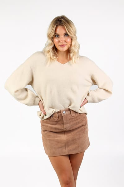 Dillian V Neck Sweater, Sen, e.Allen, Nashville, Franklin, Murfreesboro