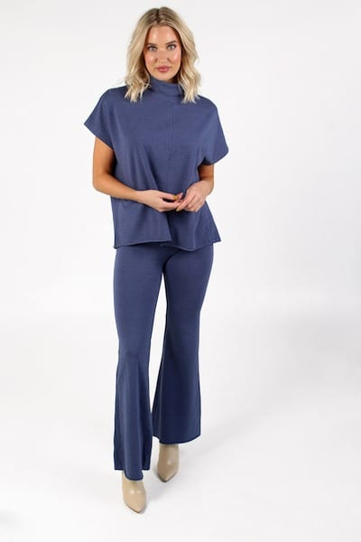 Beech Pant in Denim Heather, Sunday, e.Allen, Nashville, Franklin, mUrfreesboro