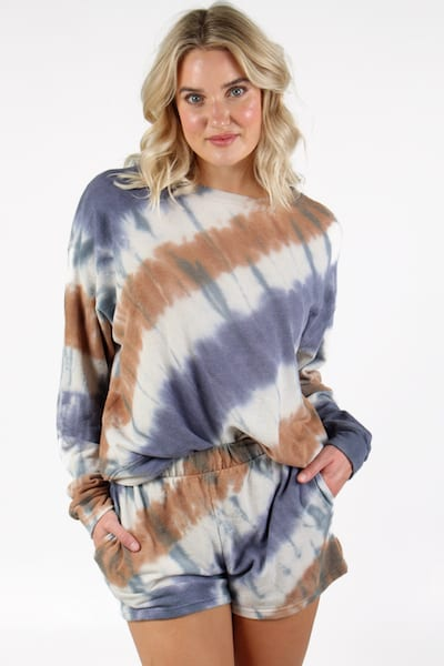 Long Sleeve Poly Cotton TieDye, e.Allen, Nashville, Franklin, Murfreesboro