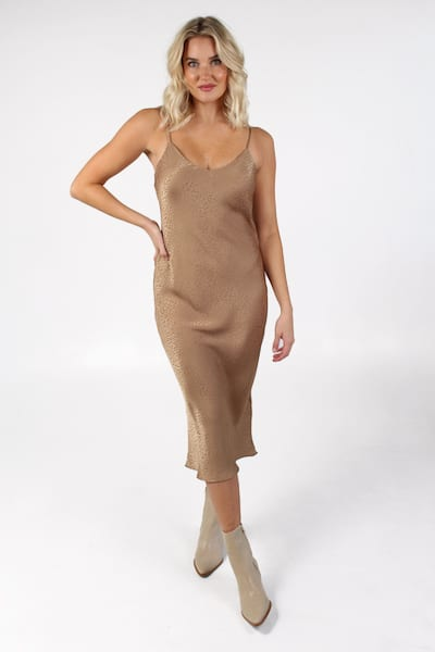 Zio Dress Bronze Cheetah, Show Me Your Mumu, e.Allen, Nashville, franklin, Murfreesboro
