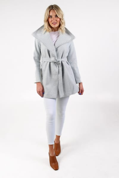Esmerelda Jacket in Grey, Love Token, e.Allen, Nashville, Franklin, Murfreesboro