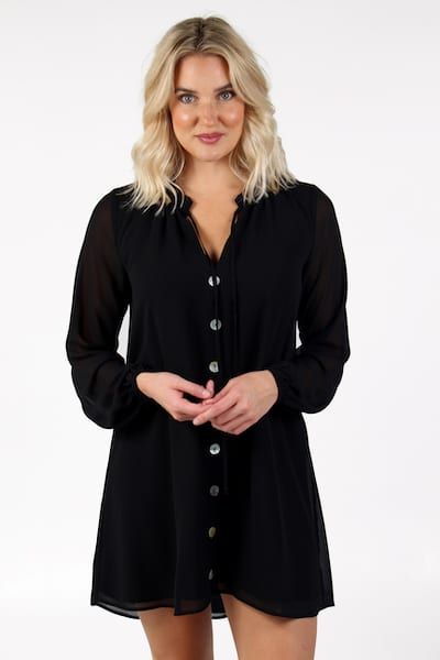 McKenna Dress Black, Show Me Your Mumu, e.Allen, Nashville, Franklin, Murfreesboro