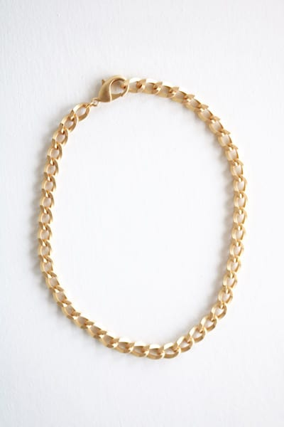 Large Curb Chain Necklace, Virtue Jewelry, e.Allen, Nashville, Franklin, Murfreesboro