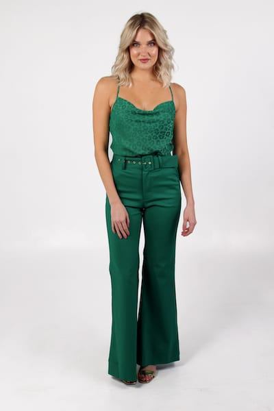 DJ Flare Pant Green Suiting, Show Me Your Mumu, e.Allen, Nashville, Franklin, Murfreesboro