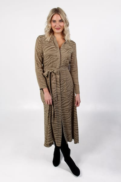 Maxi Shirt Dress in Roast Cashew, Bella Dahl, e.Allen, Nashville, franklin, Murfreesboro