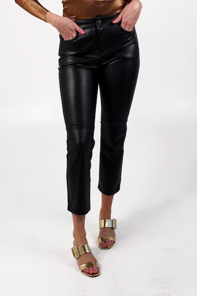 Leather Like Kick Crop in Black, Sanctuary, e.Allen, Nashville, franklin, Murfreesboro