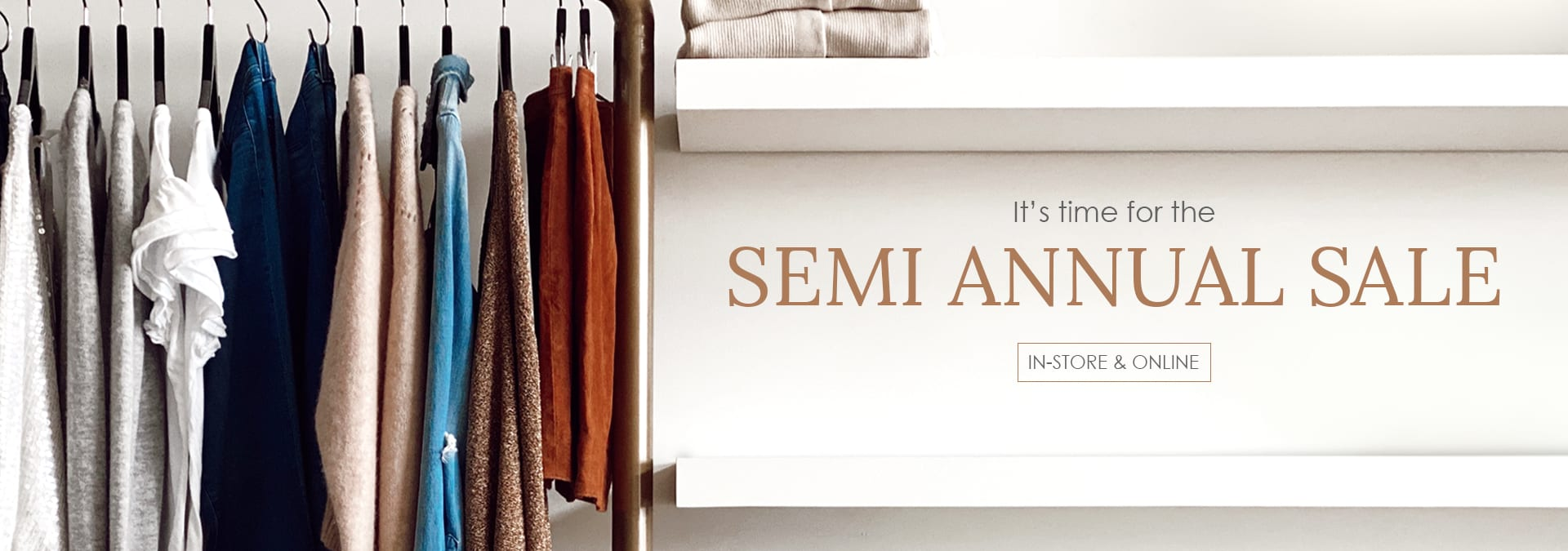 semi annual sale - e.Allen Boutique