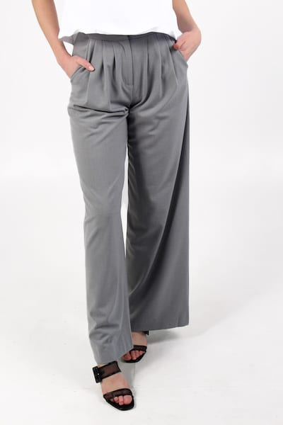 Ikari Recycled Suit High Waist Wide Leg Trouser, French Connection, e.Allen, Nashville, Franklin, Murfreesboro
