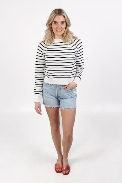 Lilly Mozart Stripe Jumper, French Connection, e.Allen, Nashville, Franklin, Murfreesboro