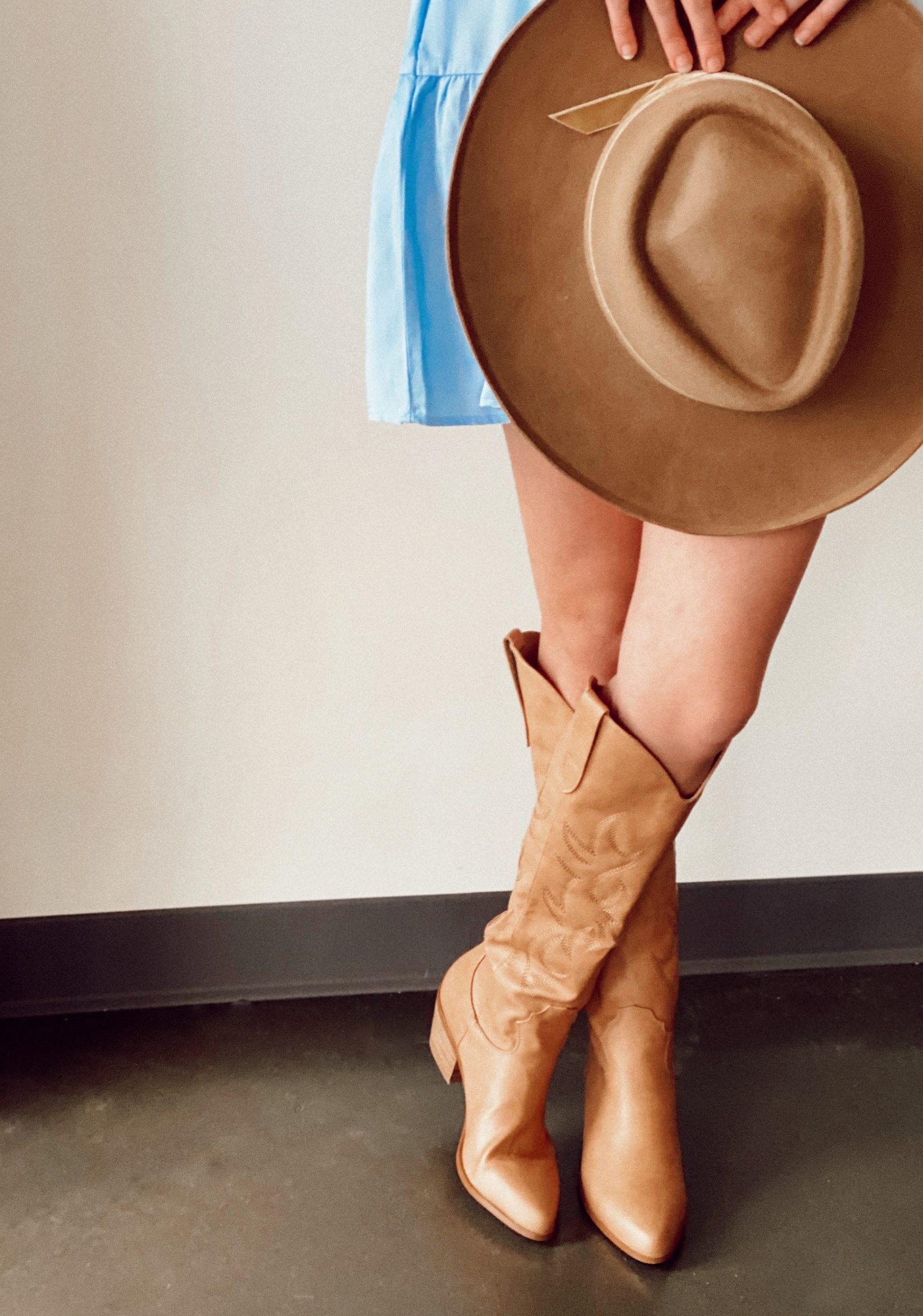 tan boots scaled - e.Allen Boutique