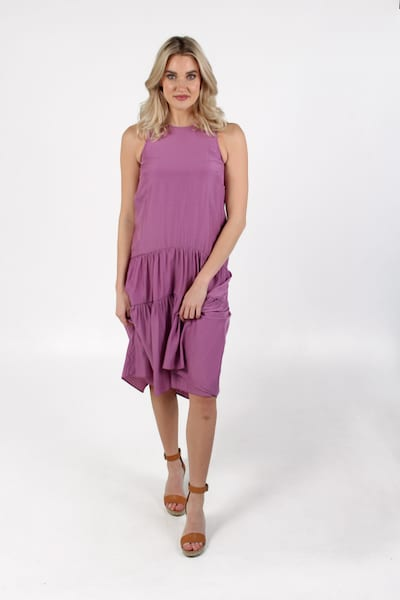Tiered Midi Dress, e.Allen, Nashville, Franklin, Murfreesboro