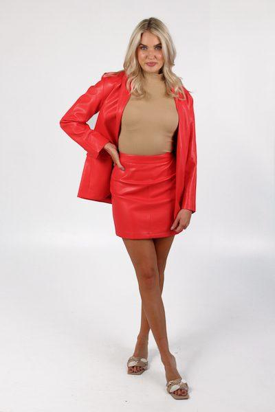 Crolenda PU Mini Skirt, french Connection, e.Allen, Nashville, Franklin, Murfreesboro