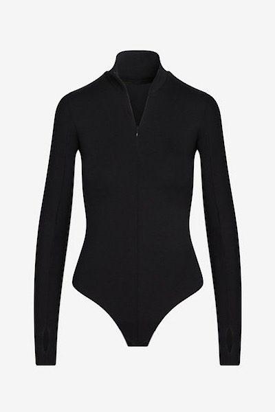 Neoprene Zip Long Sleeve Bodysuit, Commando, e.Allen, Nashville, Franklin, Murfreesboro