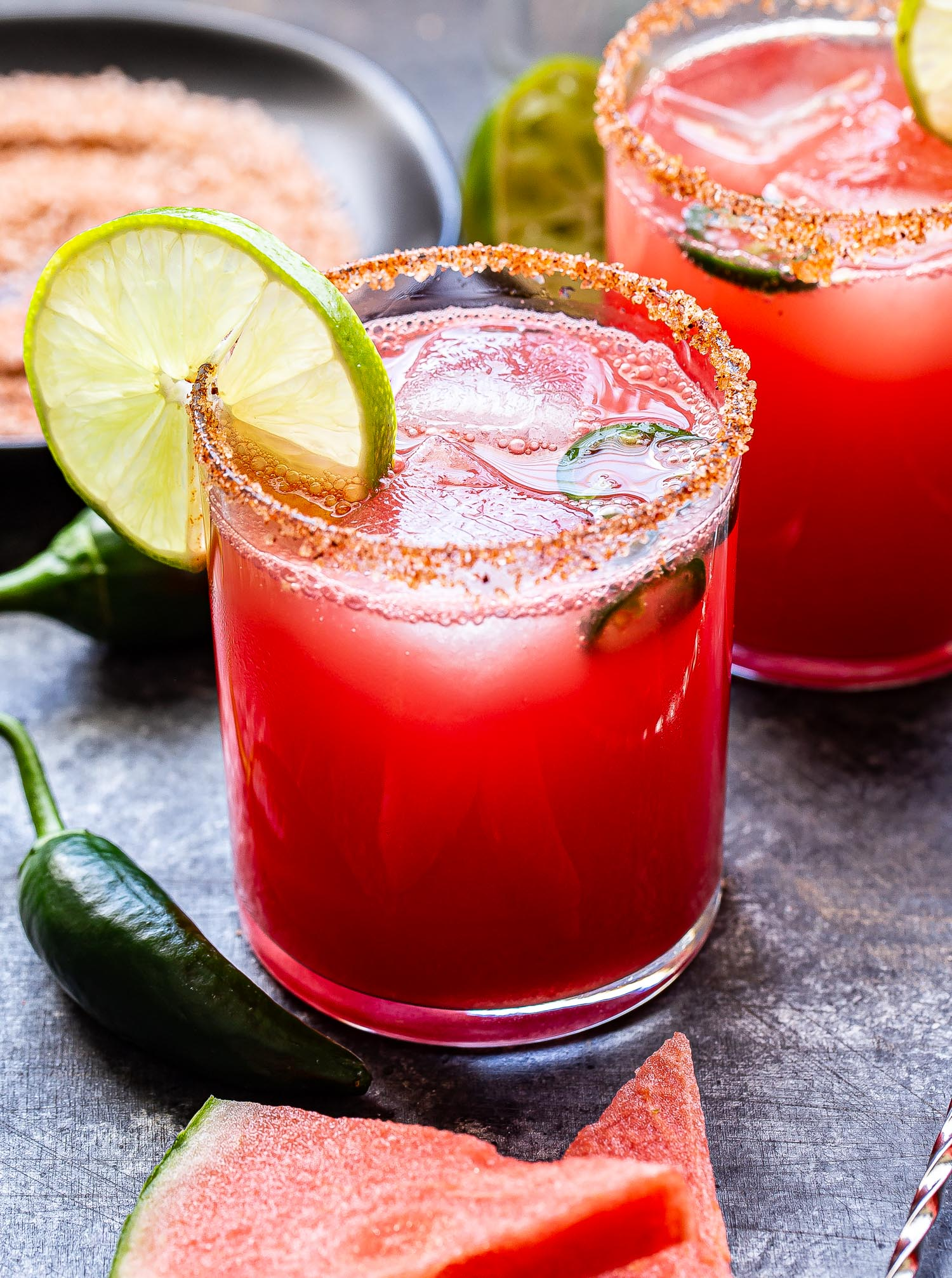 spicy watermelon margaritas picture - e.Allen Boutique