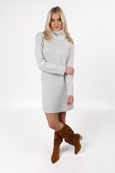 Katerina Knits Long Sleeve Roll Neck Dress, French Connection, e.ALlen, Nashville, Franklin, Murfreesboro