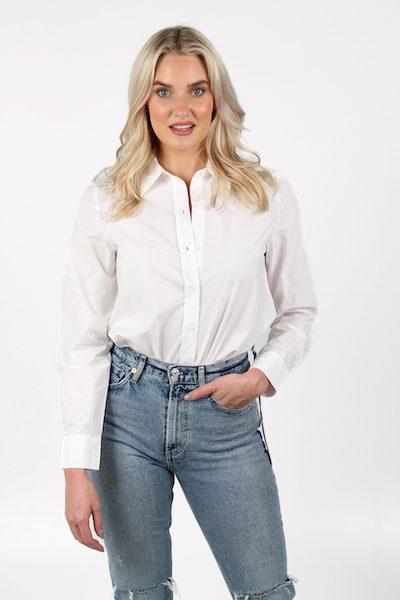 Ana Bodysuit in White, Sundays, e.Allen, Nashville, franklin, Murfreesboro