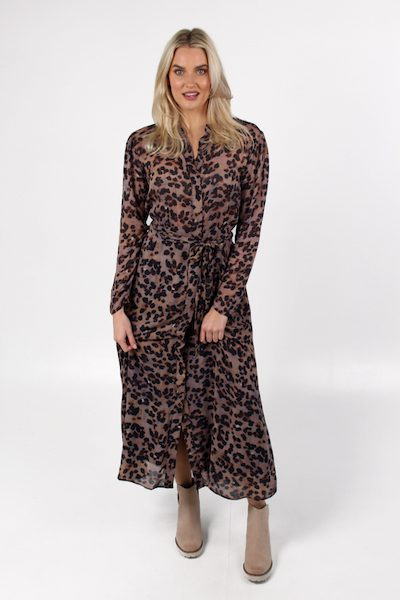 Maxi Shirt Dress in Golden Spot, Bella Dahl, e.Allen, Nashville, Franklin, Murfreesboro