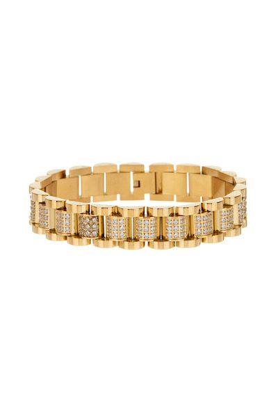 Pave Timepiece Bracelet, Luv aj, e.Allen, Nashville, franklin, Murfreesboro