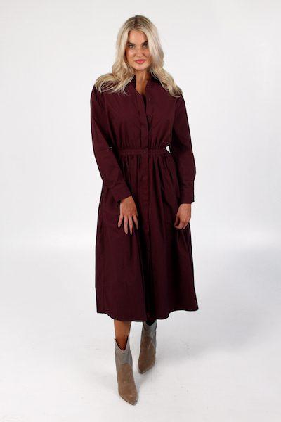 Melody Dress in Berry, Sundays, e.Allen, nashville, Franklin, Murfreesboro