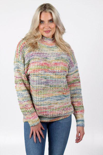 Rainbow Space Dye Sweater, e.Allen, Nashville, Franklin, Murfreesboro