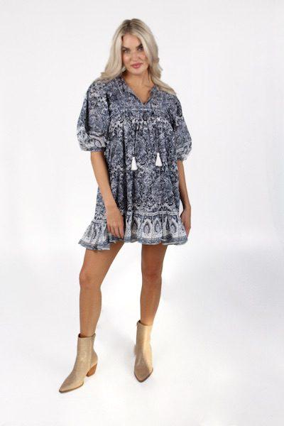 Magdalena Mini Dress in Rishi, Cleobella, e.Allen, Nashville, franklin, Murfreesboro