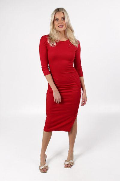Christina 3 Quarter Sleeve Midi Dress, Michael Stars, e.Allen, Nashville, franklin, Murfreesboro