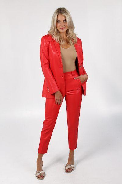 Crolenda PU Tapered Suit Trouser, French Connection, e.Allen, Nashville, Franklin, Murfreesboro