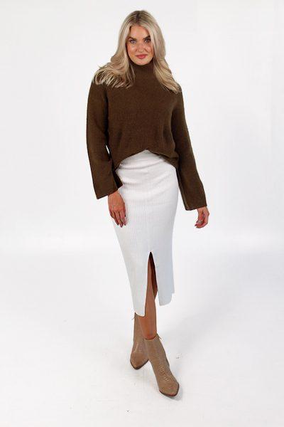 Mari Knitted Skirt, French Connection, e.Allen, Nashville, Franklin, Murfreesboro